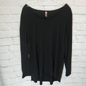 LuLaRoe Lynnae 3XL Black